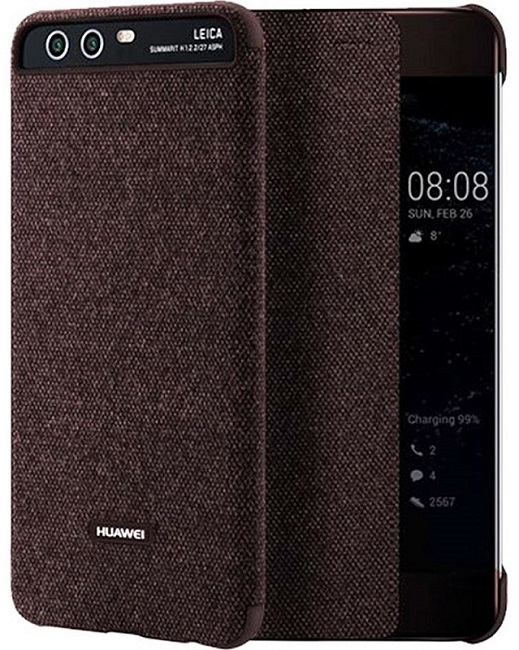 Image of   Huawei P10 Smart View Cover Brun
