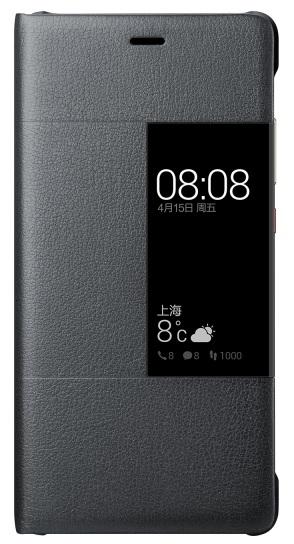 Billede af Huawei P9 Smart Cover Originalt Sort
