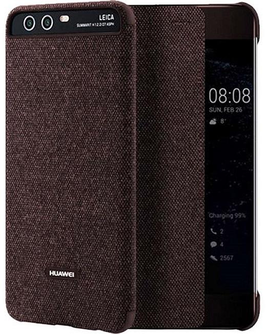 Billede af Huawei P10 Smart View Cover Brun