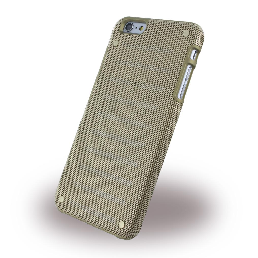 Billede af i-Paint - Metal Case - Hardcover / Phone Case - Apple iPhone 6 6s - Gold
