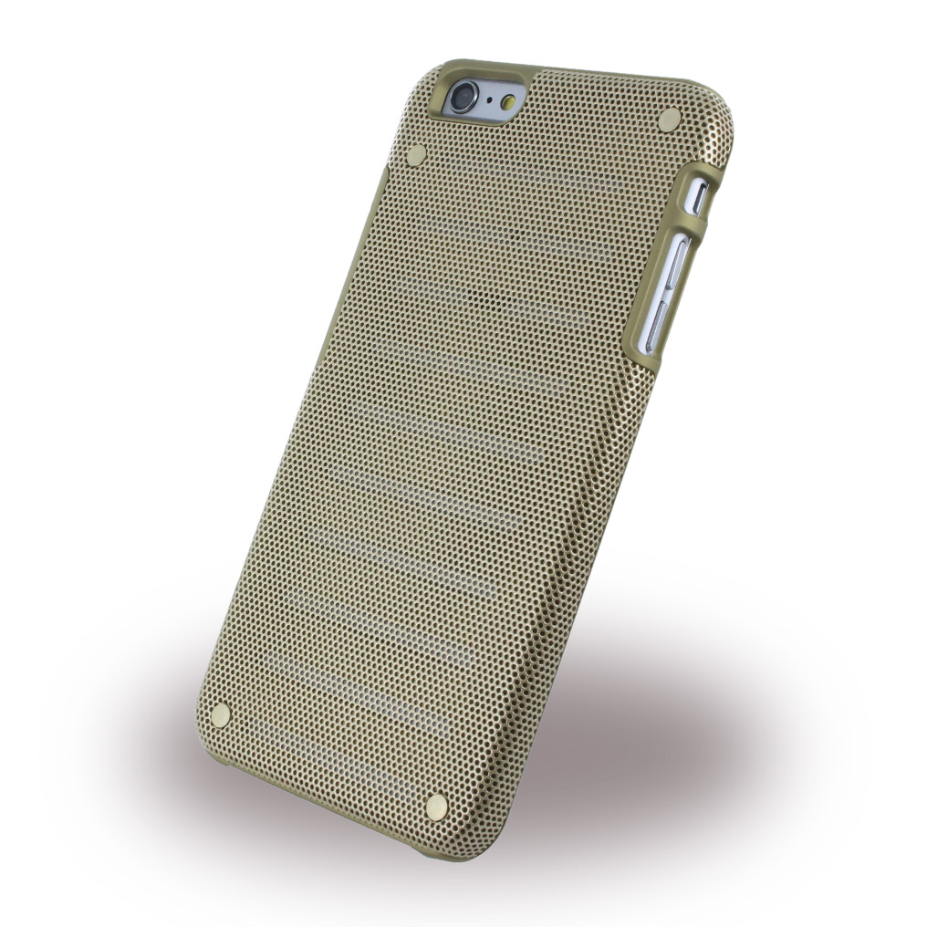 Billede af i-Paint - Metal Case - Hardcover / Phone Case - Apple iPhone 6 Plus 6s Plus - Gold
