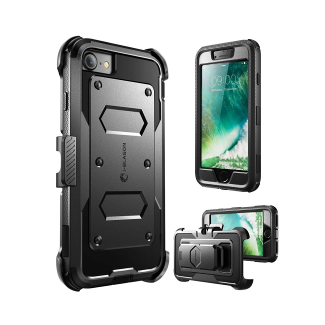 Image of   i-Blason Armorbox Case iPhone 7 : i-Blason Armorbox Case iPhone 7 Black