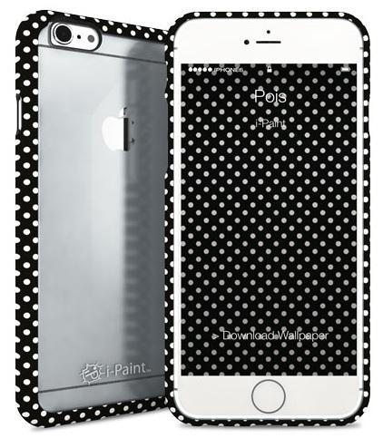 Billede af Apple iPhone 6 / 6S med gennemsigtig bagside i-Paint Ghost Pois
