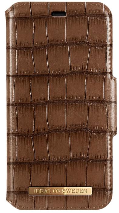Image of   IDEAL Capri Wallet til iPhone 11 - Brun