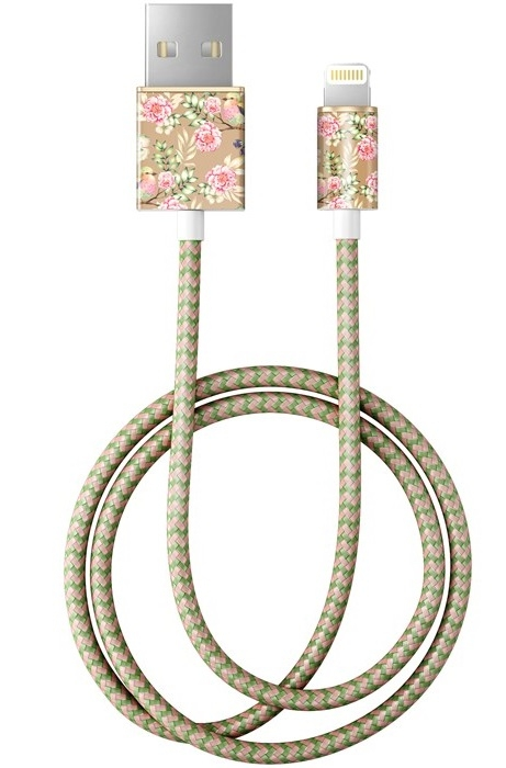 Image of   IDEAL FASHION CABLE LIGHTNING 1 M CHAMPAGNE BIRDS