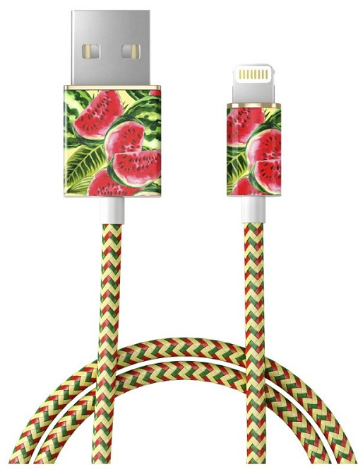 Image of   IDEAL FASHION CABLE LIGHTNING 1 M ONE IN A MELON