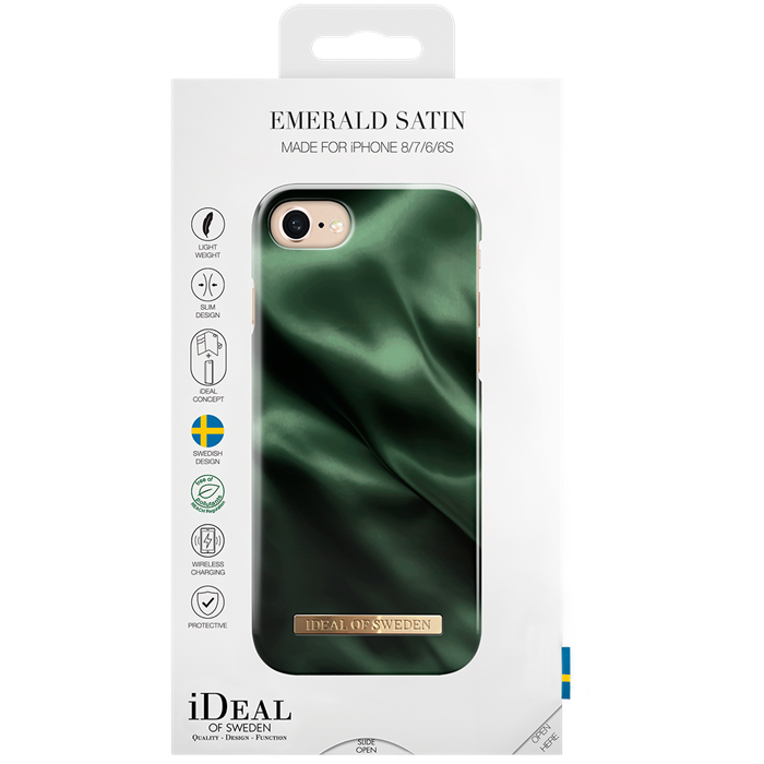 Image of   IDEAL FASHION CASE (IPHONE 8/7/6/6S EMERALD SATIN)