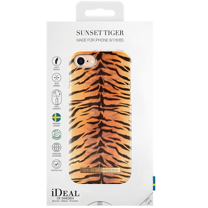 Image of   IDEAL FASHION CASE (IPHONE 8/7/6/6S SUNSET TIGER)