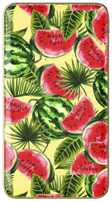 Image of   IDEAL FASHION POWER BANK ONE IN A MELON