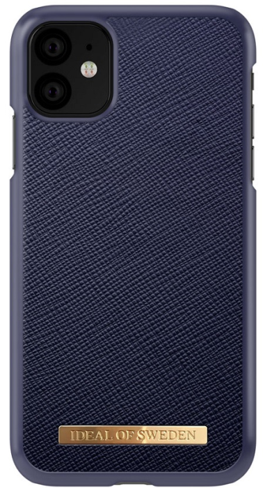 Image of   IDEAL FASHION SAFFIANO CASE (IPHONE 11 NAVY)