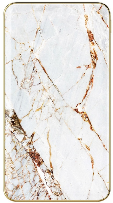 Image of   iDeal of Sweden 5000 mAh Fashion Power Bank Carrara Gold