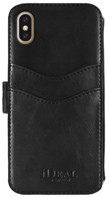 Image of   iDeal STHLM Wallet 2-i-1 cover til iPhone X Sort