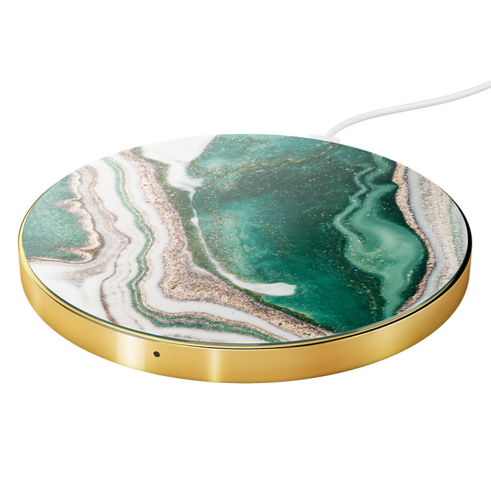 IDEAL WIRELESS CHARGER (GOLDEN JADE MARBLE)