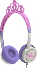 Billede af iFrogz Little Rockerz V2 hovedtelefoner med lav lyd til børn fra 4 år Prinsesse Tiara