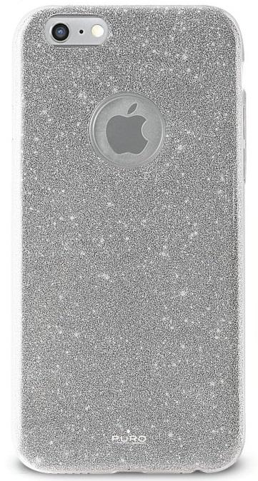Billede af Puro Glitter Cover Shine Silver til iPhone 7
