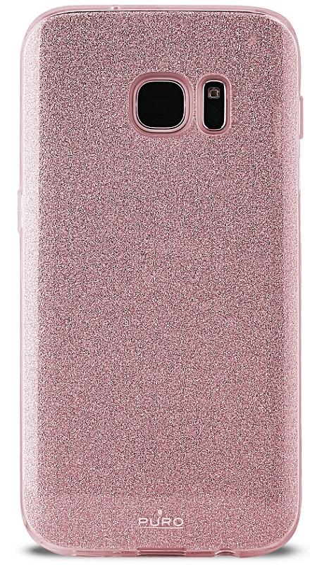 Billede af Puro Samsung Galaxy S8 Shine Cover Rose Gold