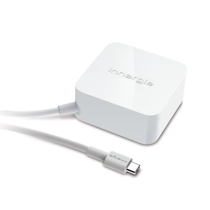 Innergie Adapter 65C USB-C-strømforsyning hvid