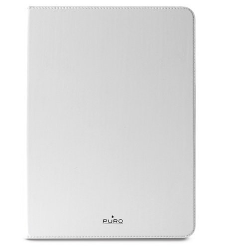 Billede af Cover til iPad Air 2 Puro Booklet Slim med magnet luk Hvid