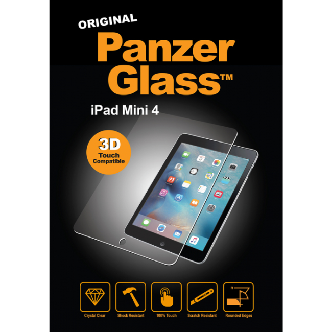 Image of   iPad Mini 4 Panzer Glass Sikkerhedsglas med privacy filter