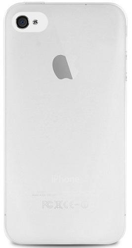 Billede af iPhone 4 / 4S silikone cover Puro Ultra-Slim 0.3 Transparent
