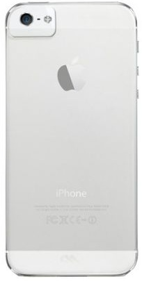 Image of   iPhone 5 / 5S / SE cover Case-mate Barely There Gennemsigtigt