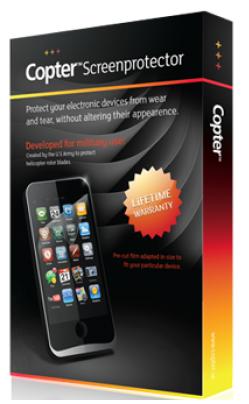 Image of   iPhone 5 / 5S / SE skærmbeskyttelse Copter Privacy filter