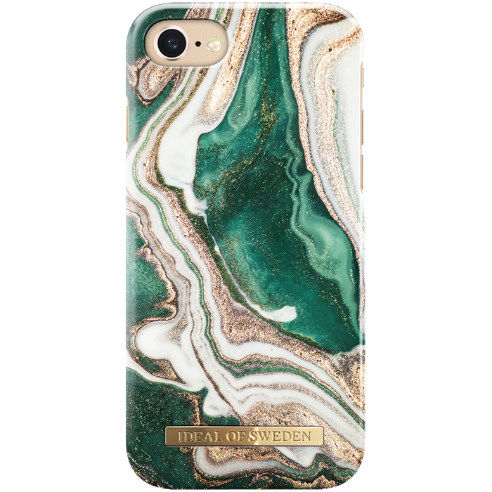 iPhone 6/6S/7/8 Cover iDeal Fashion Case Golden Jade Marble
