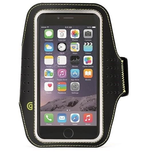"""Billede af iPhone 6 (4.7"""") Armbånd Griffin Trainer Sport Armband Sort"""