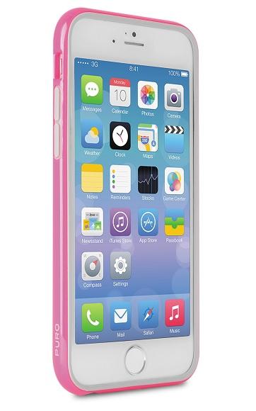 Billede af Puro Bumper til iPhone 6 / 6S Pink