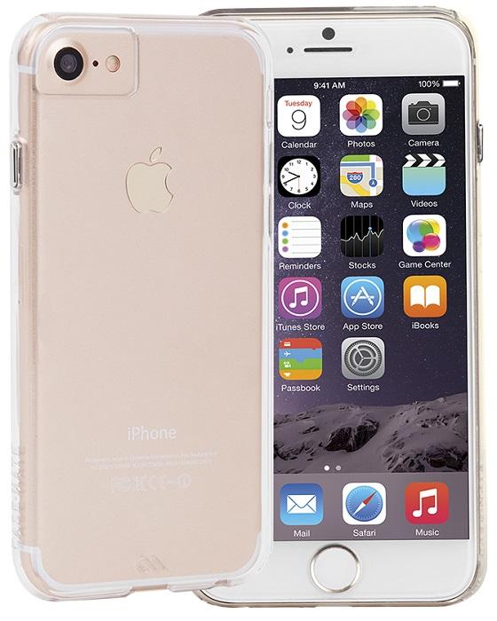 Billede af iPhone 8 / 7 / 6S Cover Case-mate Barely There Gennemsigtigt