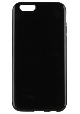 Billede af Silikone cover til iPhone 7 / 6S / 6 Xqisit FlexCase Sort