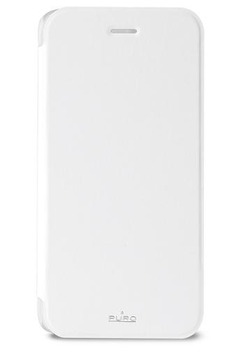 Billede af iPhone 6S / 6 flipcover med kortholder Puro Booklet Hvid