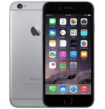 Billede af Apple iPhone 6S 32GB Space Grå