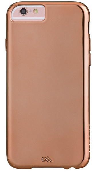 Billede af iPhone 6 / 6S Cover Case-Mate Barely There Rose Gold