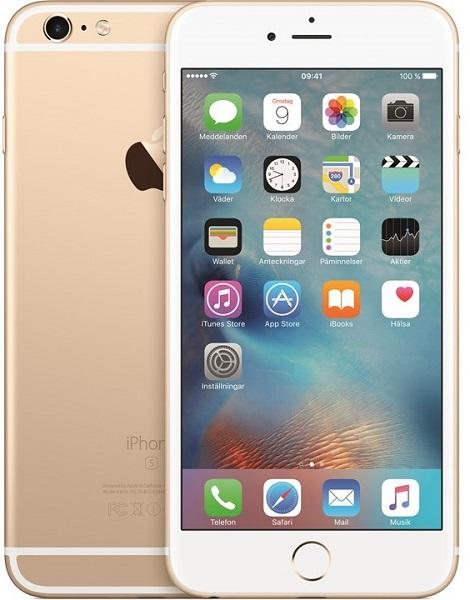 Image of   Apple iPhone 6S Plus 128GB Guld