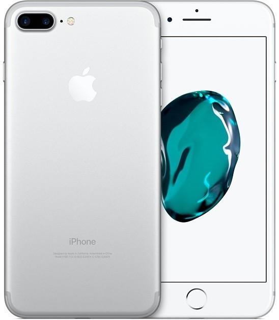 Image of   Apple iPhone 7 Plus 32GB Sølv