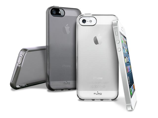 Image of   iPhone SE / 5S / 5 cover Puro Plasma - Sort