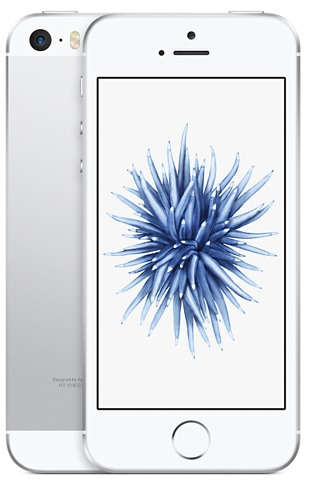 Image of   Apple iPhone SE 128GB Sølv