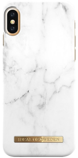 Image of   iPhone X Cover iDeal of Sweden Fashion Case White Marble