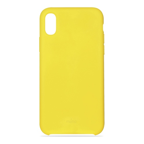 iPhone X Icon Cover Yellow