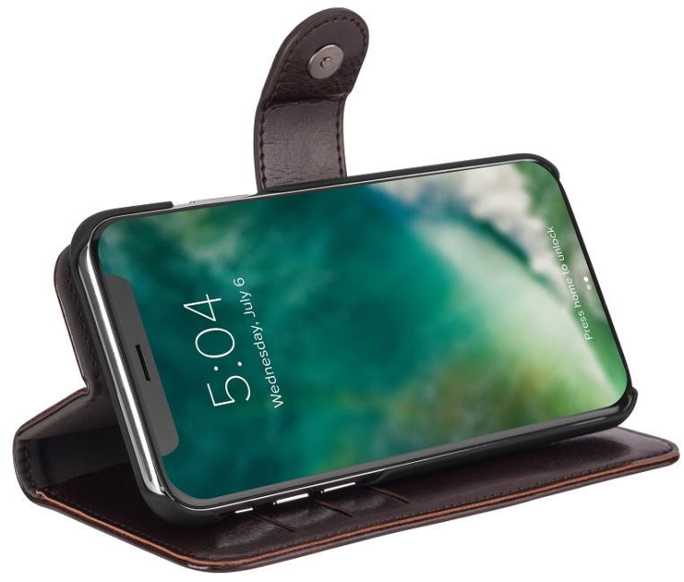 Image of   iPhone X Magnet 2-i-1 Cover Xqisit Eman Brun