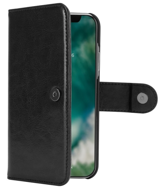 Image of   iPhone X Magnet 2-i-1 Cover Xqisit Eman Sort