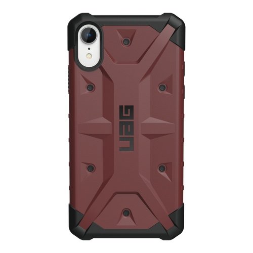 Image of   iPhone XR Pathfinder Cover Carmine