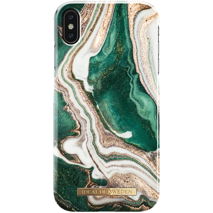 iPhone XS Max Cover iDeal Fashion Case Golden Jade Marble