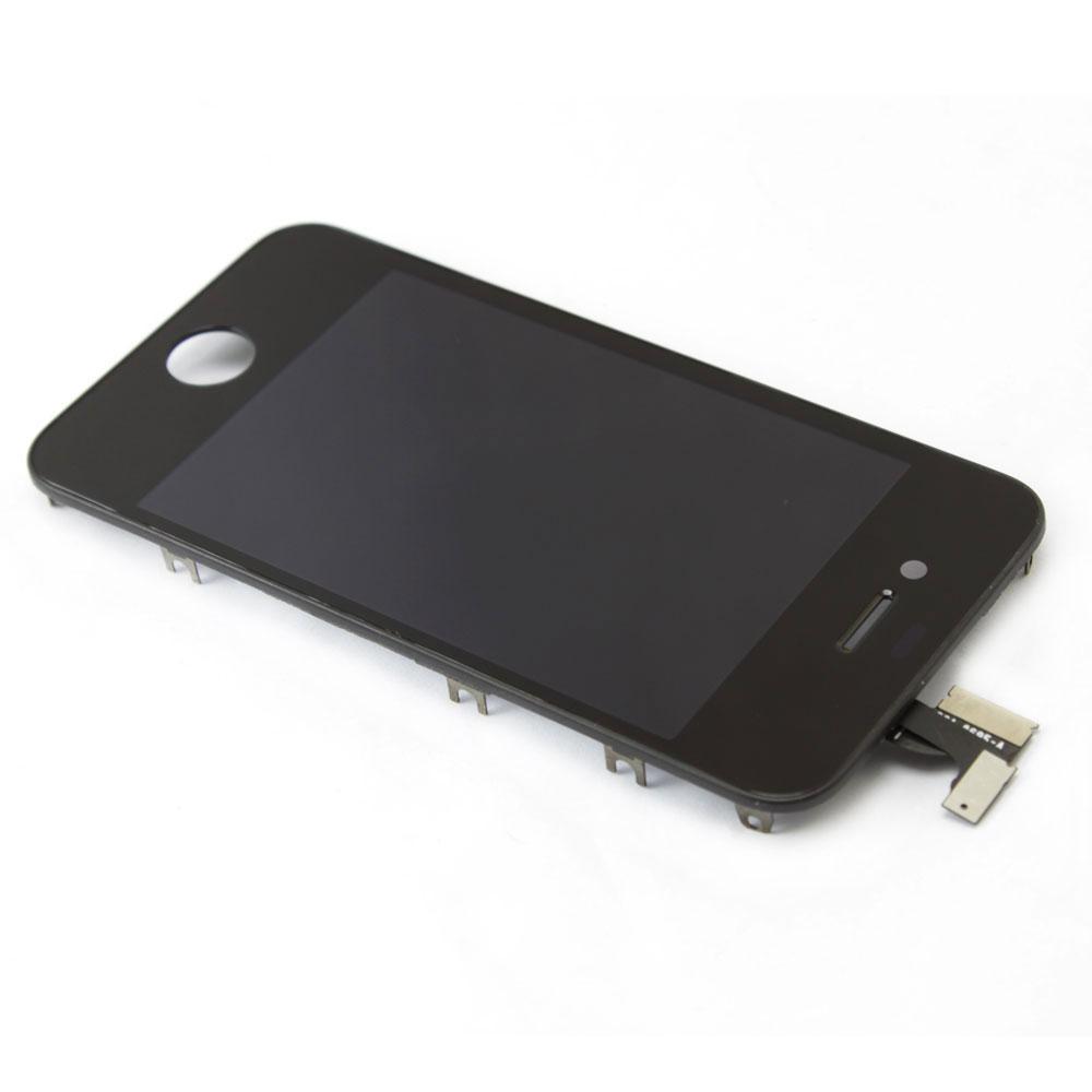 Image of   Komplet iPhone 4 LCD med digitizer - Sort