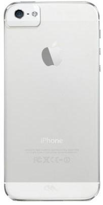 Billede af iPhone 5 / 5S / SE cover Case-mate Barely There Gennemsigtigt