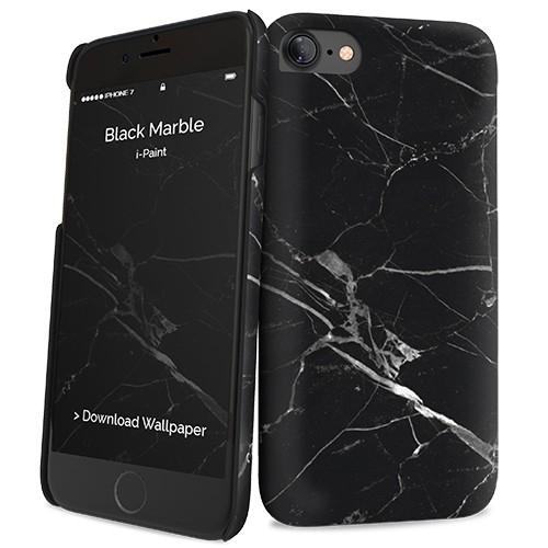 Billede af iPhone 7 cover med marmor mønster i-Paint Marble