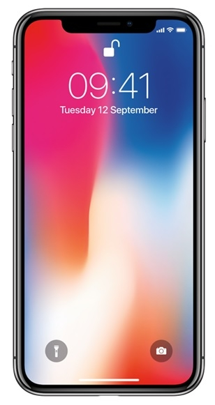 Billede af Apple iPhone X 256GB Space Grey