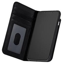 Billede af iPhone X Pung Case-mate Wallet Folio i ægte læder Sort