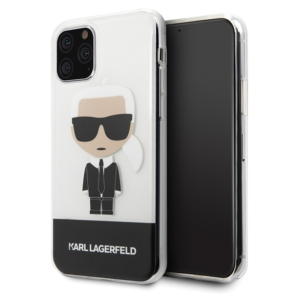 Image of   Karl Lagerfeld - Iconic Case - Apple iPhone 11 Pro - Transparent